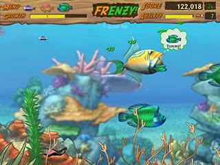 Feeding frenzy free online game to play